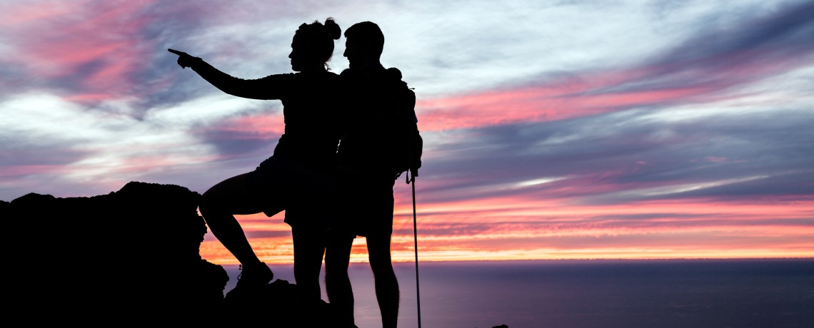 Set mutual goals to build your intimacy